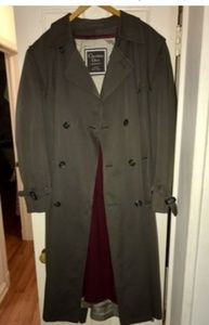 Christian Dior Trench Coat and cashmere scarf